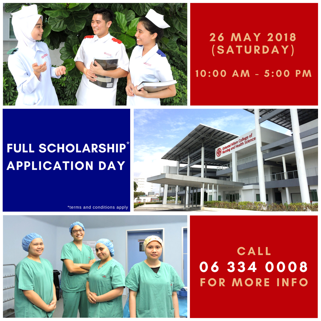 July 2018 Intake Scholarship Application Day